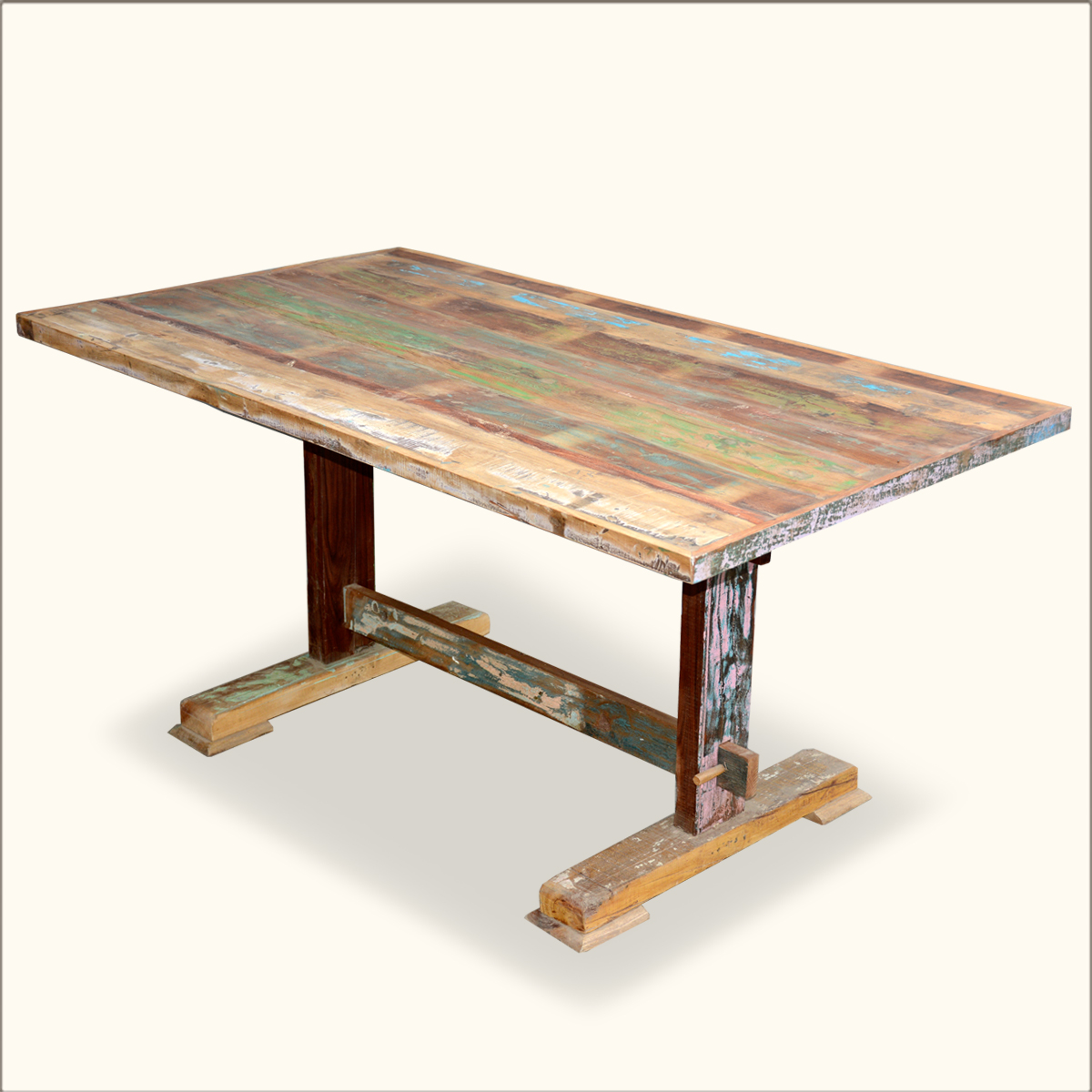 Of reclaimed wood dining table handmade dining table Reclaimed wood furniture colorado