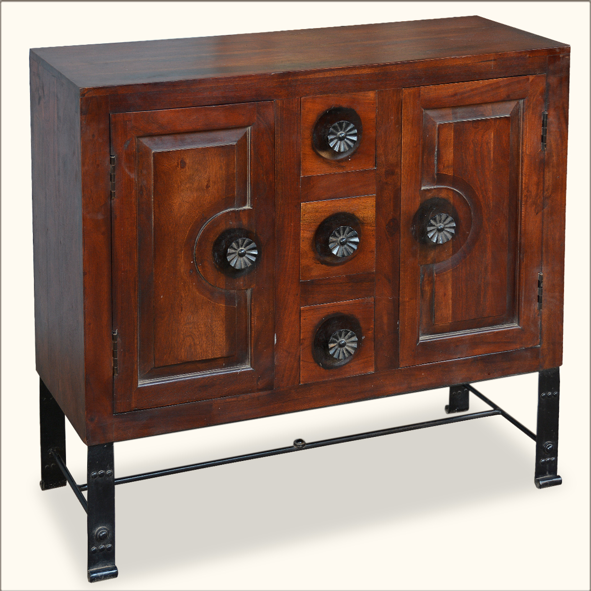 Rustic Sideboard Cabinet Wood Iron Storage Pillbox Drawers. Victorian Kitchens. Luxe Furniture Pensacola. Huntington House Furniture Reviews. Microwave Under Cabinet. Out Door Lights. Baltic Brown Granite. Brown Refrigerator. Lowes Drawer Pulls