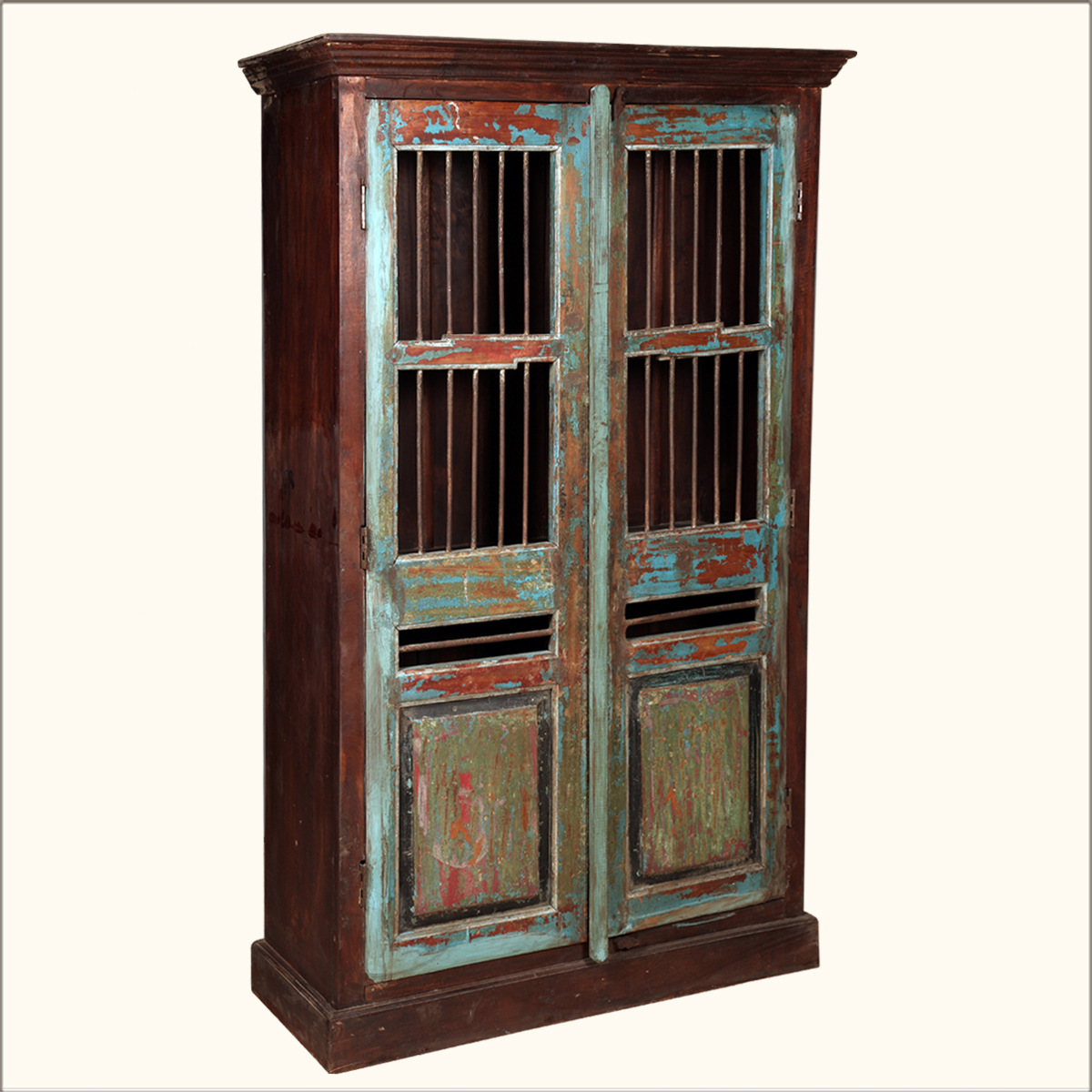 Marvelous photograph of  Wood 73 Storage Clothing Wardrobe Cabinet Armoire Furniture eBay with #B48317 color and 1200x1200 pixels