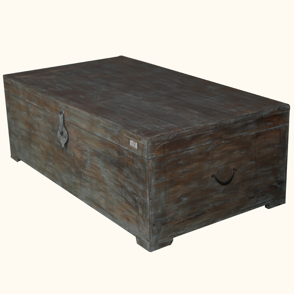 Rustic mango wood distressed storage coffee table chest hope box trunk furniture ebay Coffee table chest with storage