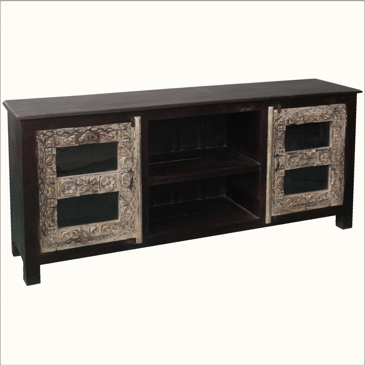 70 Long Media Console Reclaimed Wood Tv Stand