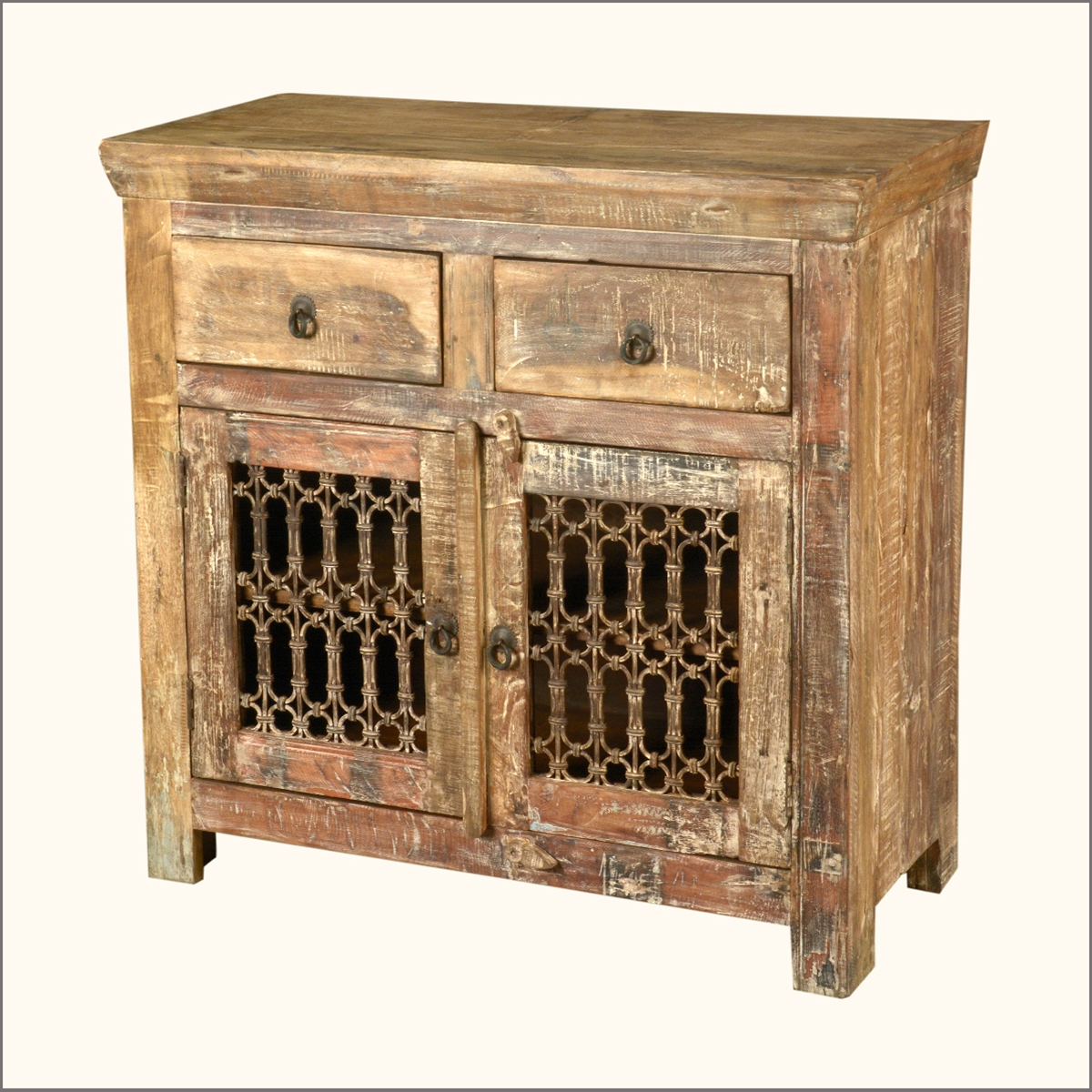 Marvelous photograph of Reclaimed Wood Iron Distressed Sideboard Storage Buffet Cabinet eBay with #B48317 color and 1200x1200 pixels