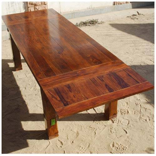 Wooden Plank To Lift Dining Room Table