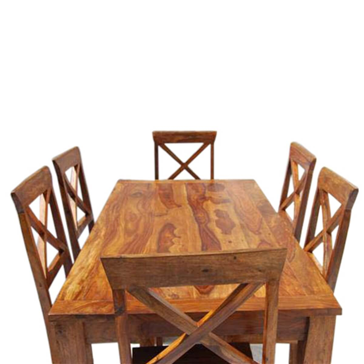 Rustic Solid Wood Oklahoma Dining Table amp Chair Set : 13512 from www.sierralivingconcepts.com size 1200 x 1200 jpeg 349kB