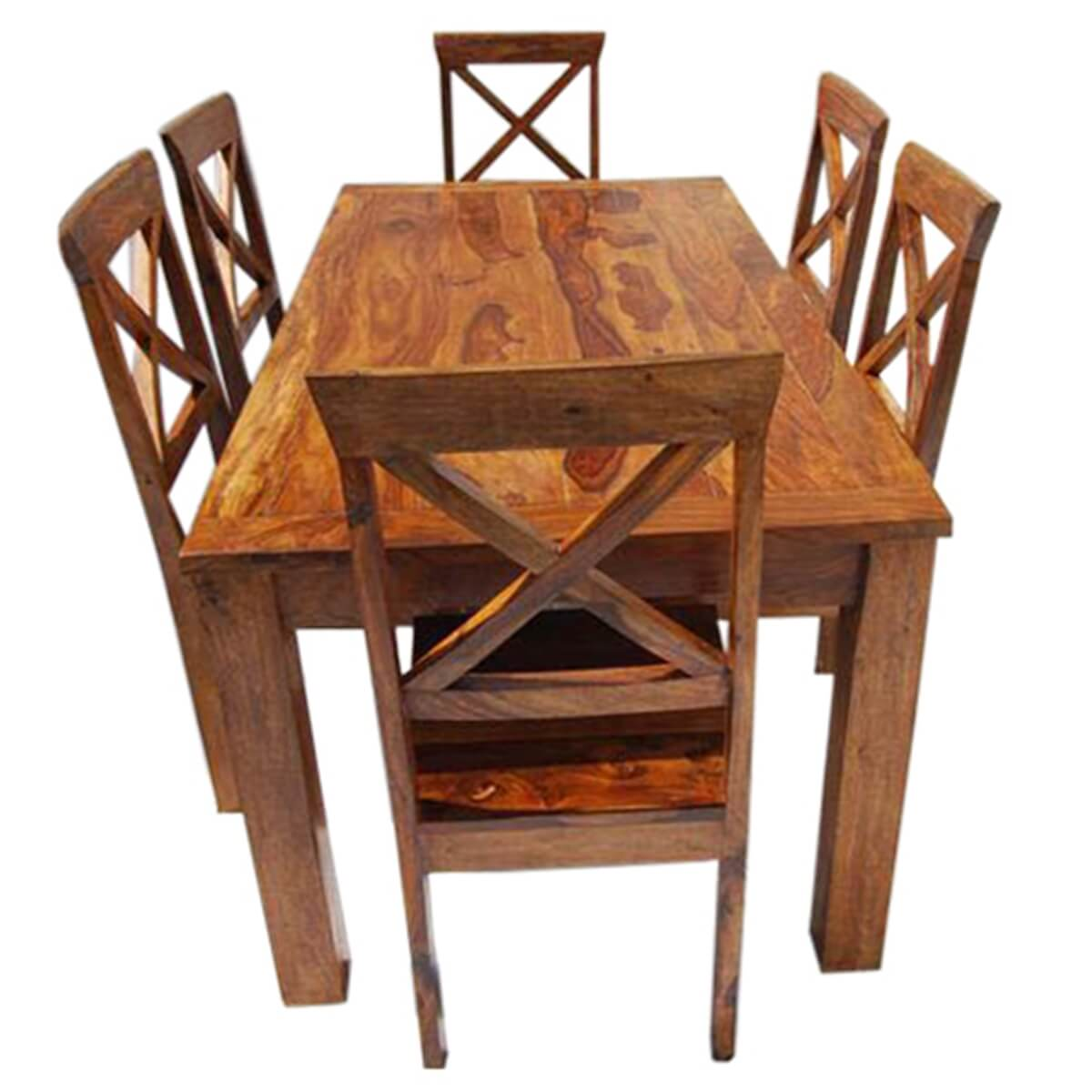 Rustic Solid Wood Oklahoma Dining Table amp Chair Set : 13514 from www.sierralivingconcepts.com size 1200 x 1200 jpeg 380kB