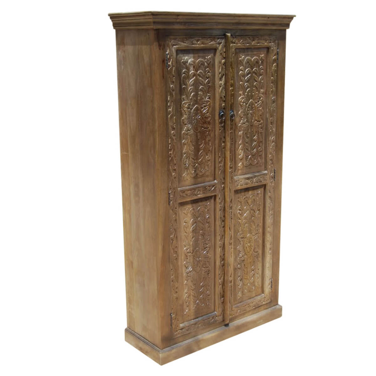 intaglio hand carved doors solid wood storage cabinet. Black Bedroom Furniture Sets. Home Design Ideas