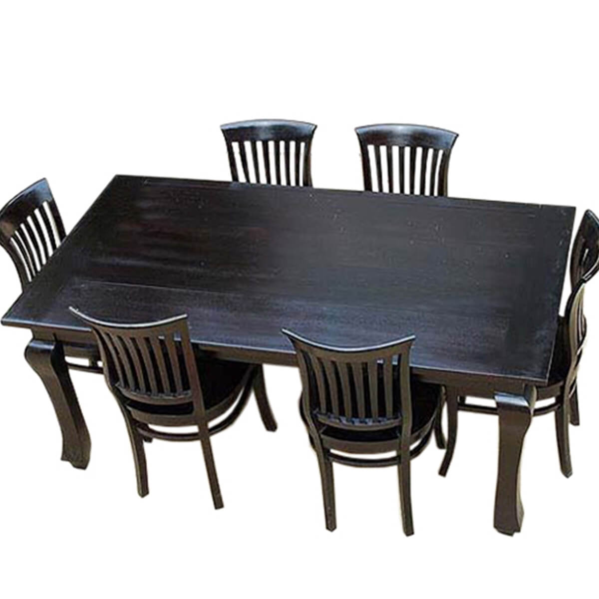 Solid Wood Kitchen: Kansas City Solid Wood Kitchen Dining Table With School