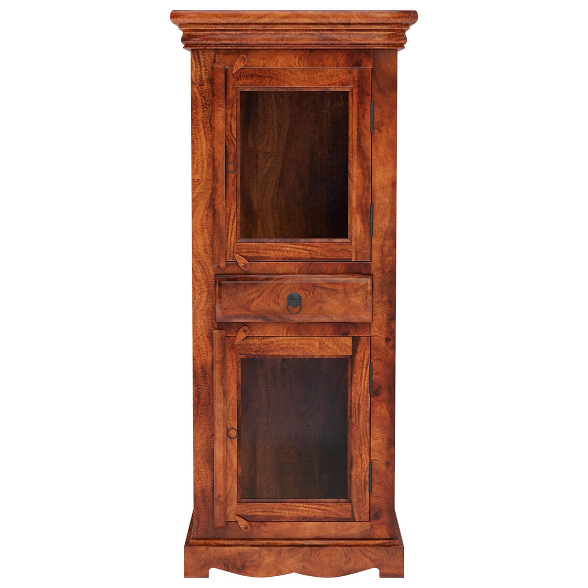 Unfinished Wood Armoire ~ Solid wood armoire storage cabinet furniture