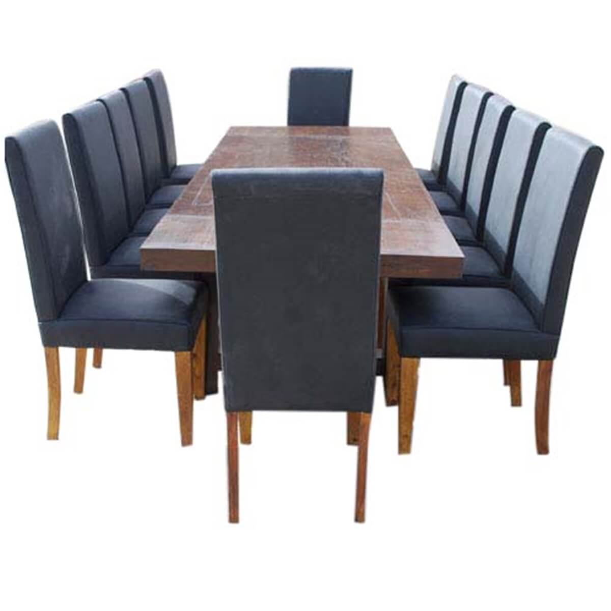 matterhorn extendable dining table and chair set for 12 people. Black Bedroom Furniture Sets. Home Design Ideas