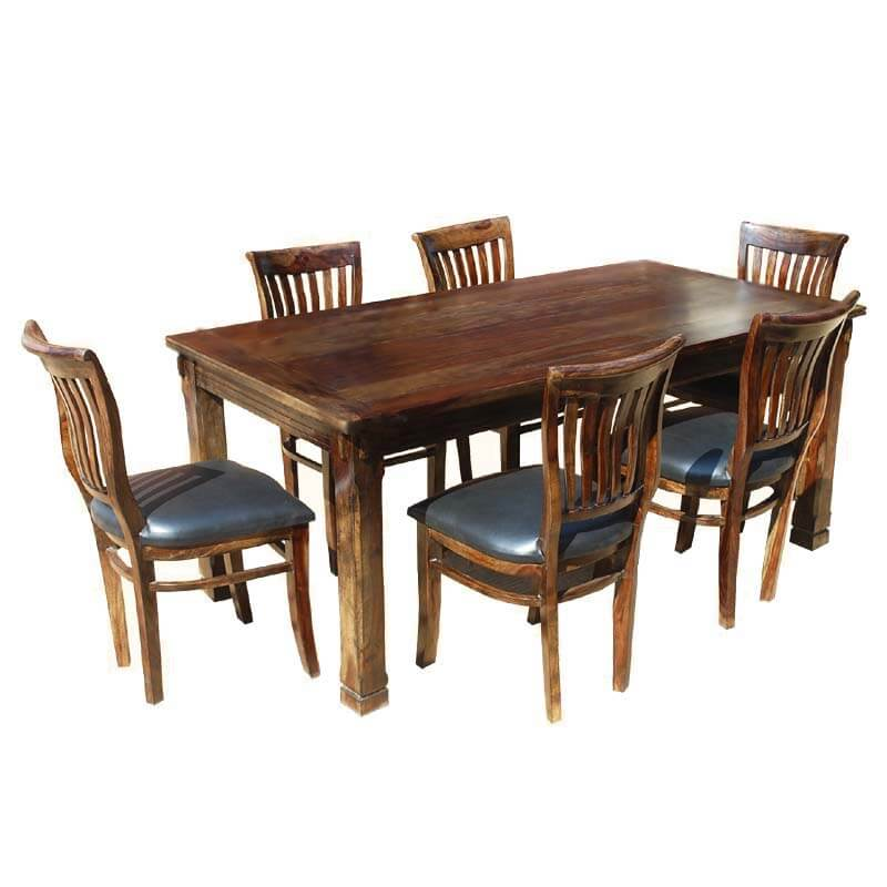 Dining Room Table Sets Leather Chairs Dining Room Black Dining Room Faux Leather Modern Chairs