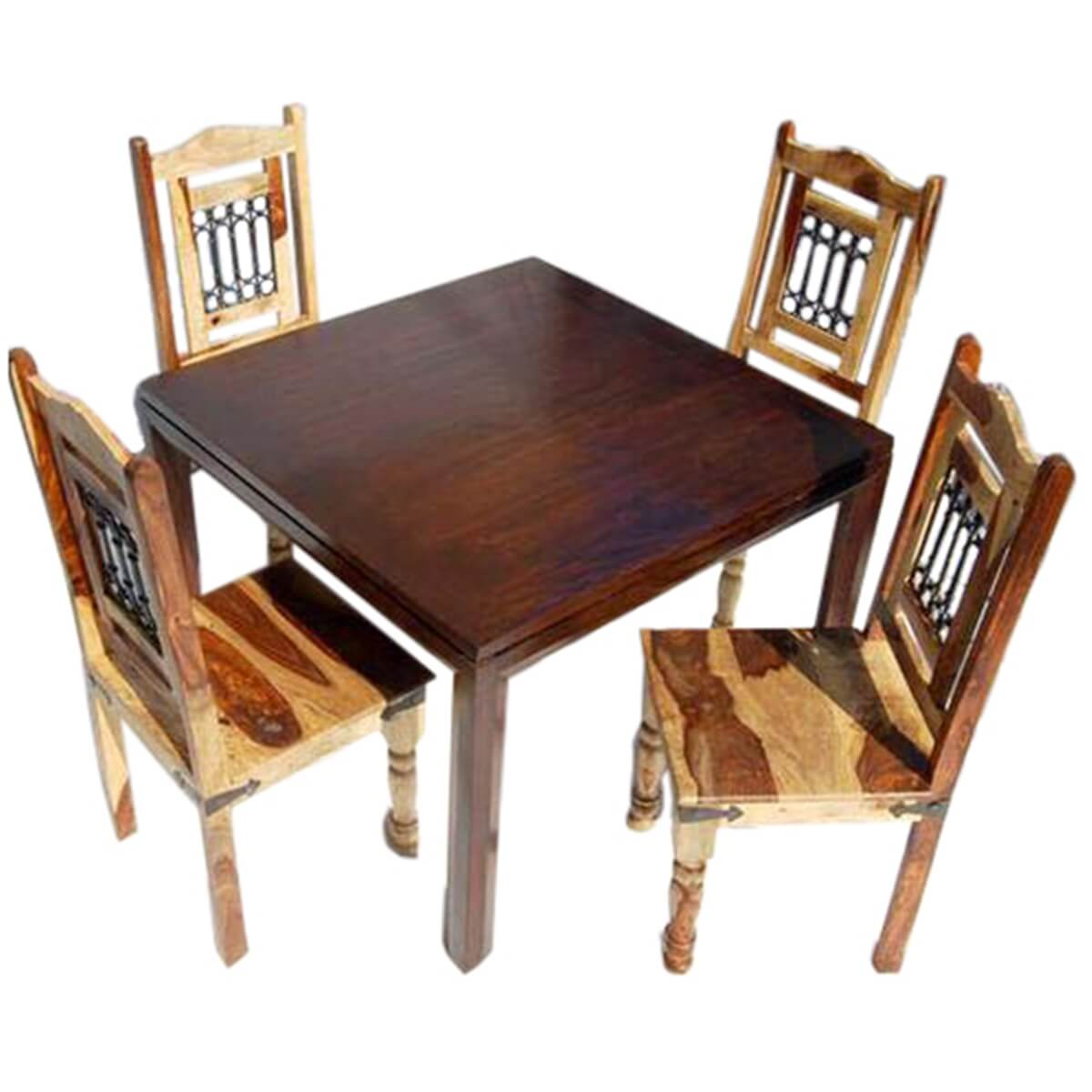 square dining room table chairs set