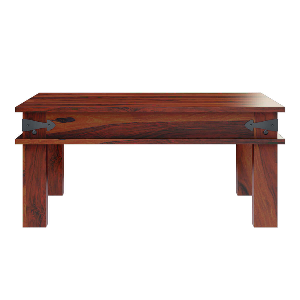 Square Coffee Table: Altamont Transitional Solid Wood Square Coffee Table