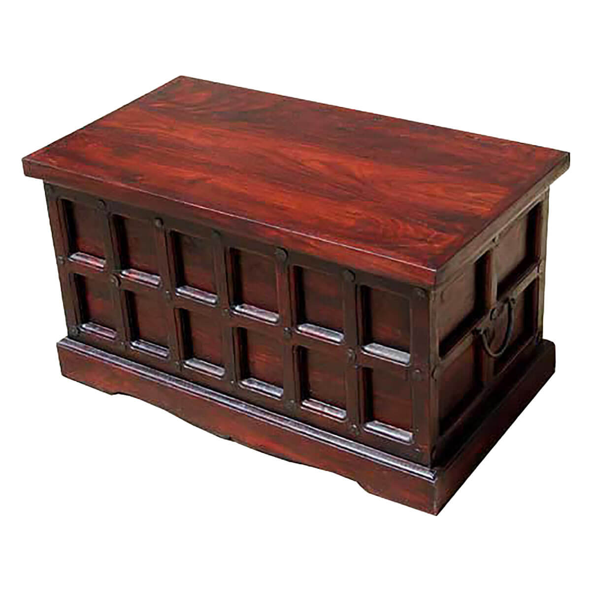 Beaufort solid wood storage chest trunk box coffee table Coffee table chest with storage