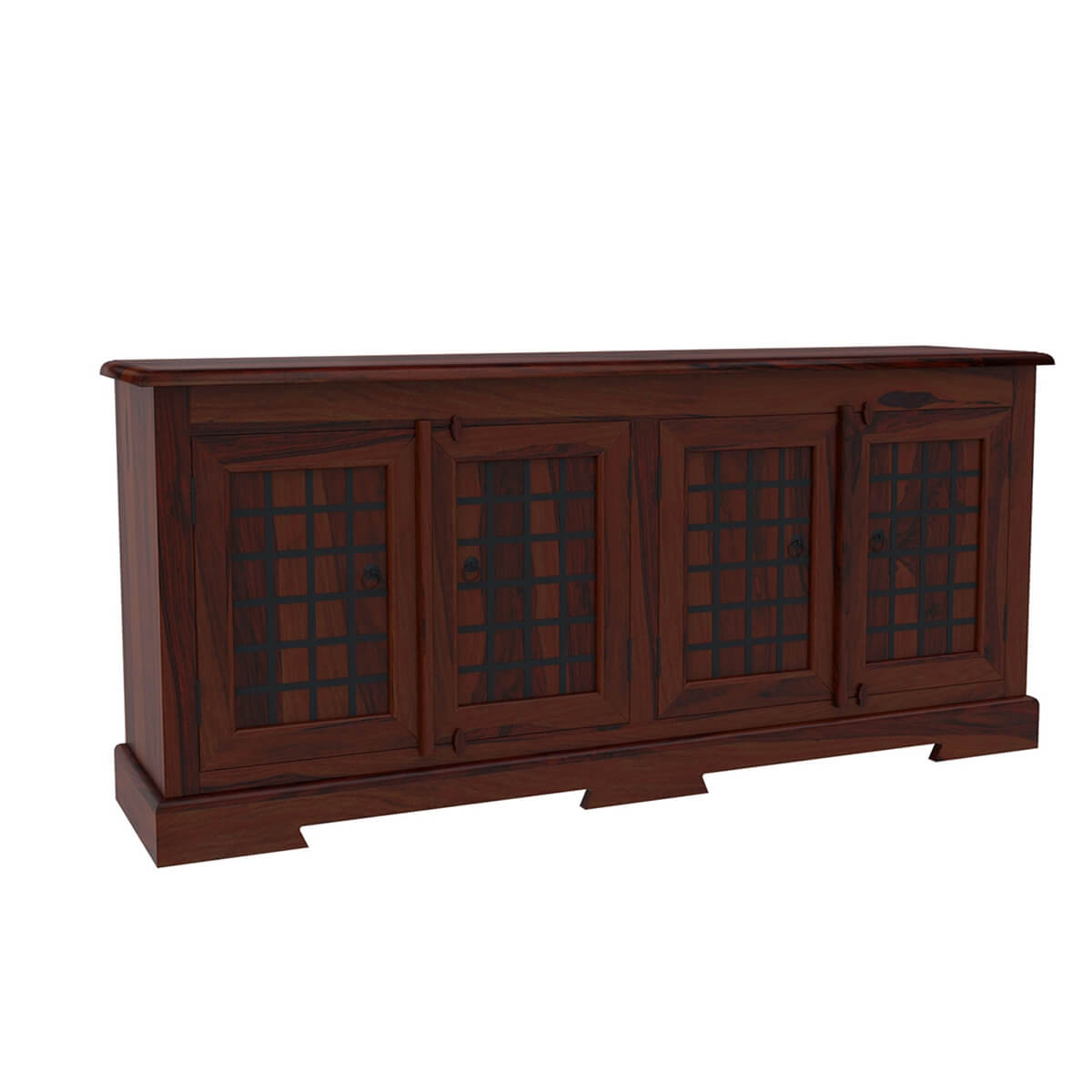 Sierra door sideboard solid wood buffet cabinet w