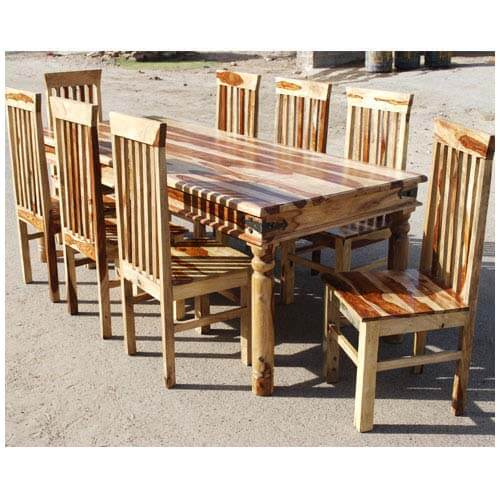 9 Piece Dining Room Table Sets: Lincoln 9 Piece Dallas Dining Room Table & Chair Set