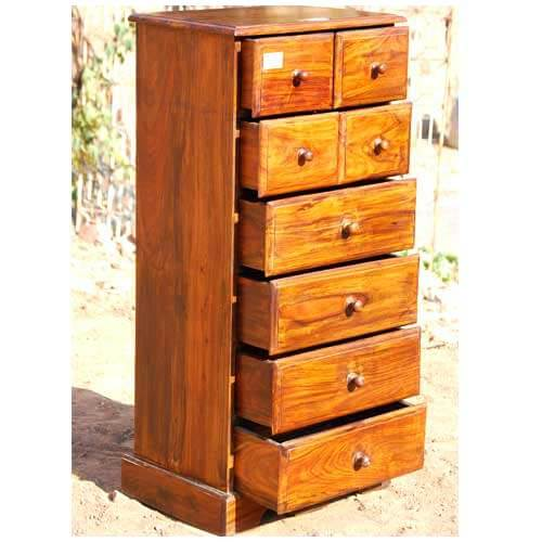 Wood storage chest drawers cabinet bedroom furniture for Storage chests for bedroom