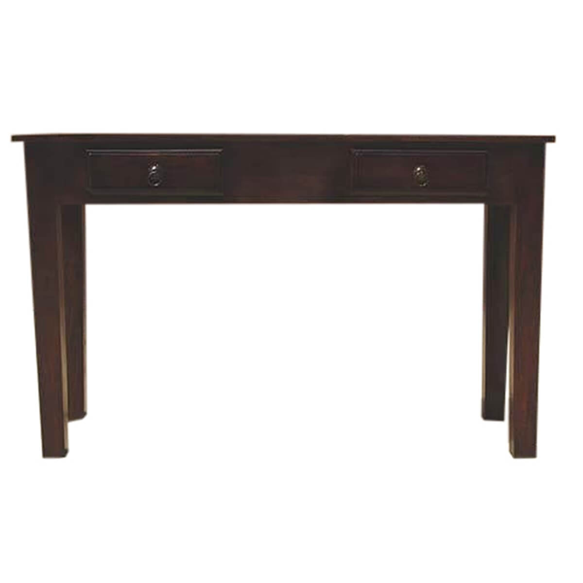 Foyer Table Drawers : Wood storage drawers console hall entry way foyer table