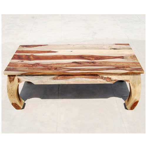 Large rustic unique wood cocktail coffee table for Large wood coffee table