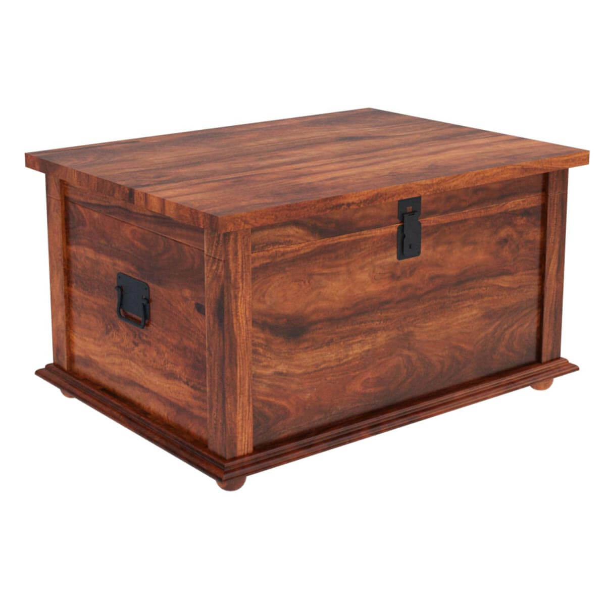 wooden trunk coffee table home design