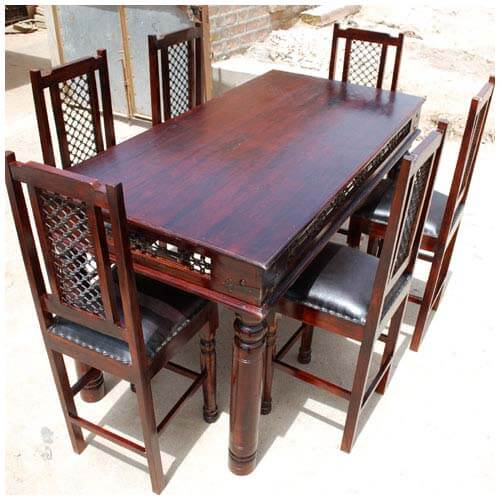 Table And Chair Sets Philadelphia 7pc Counter Height Dining Room Table
