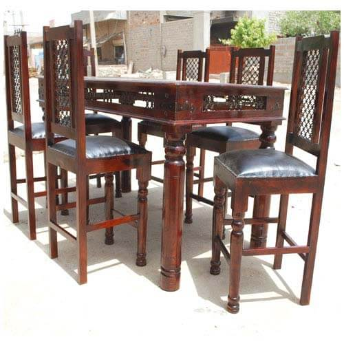 philadelphia 7pc counter height dining room table and chair set
