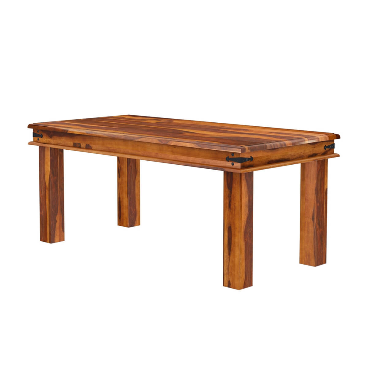 Philadelphia country classic oak 6 seater handmade dining for Handcrafted dining room tables