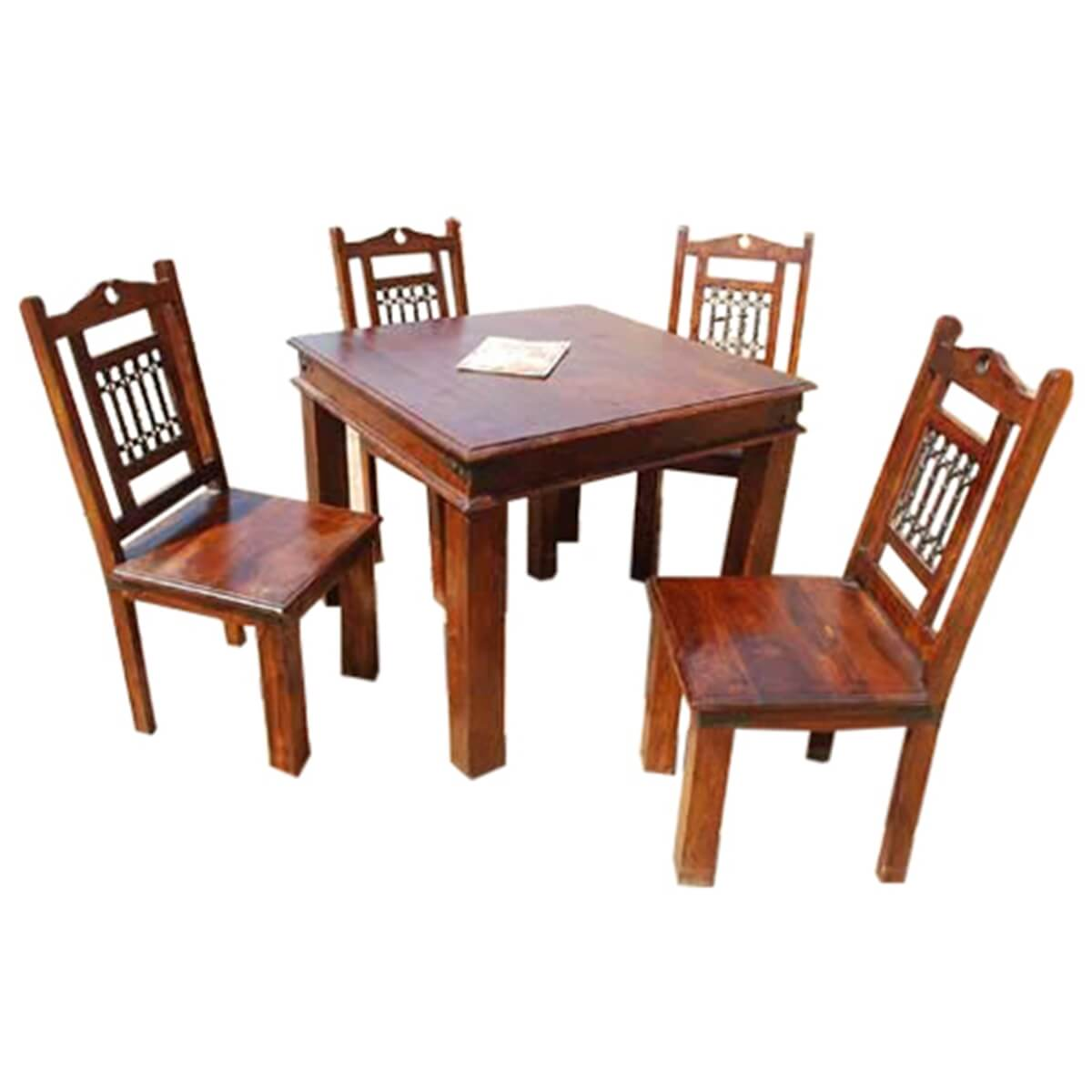 sets philadelphia transitional dining table chair set for 4 people