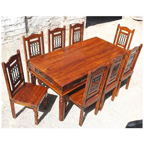 furniture by room dining room dining table and chair sets solid wood