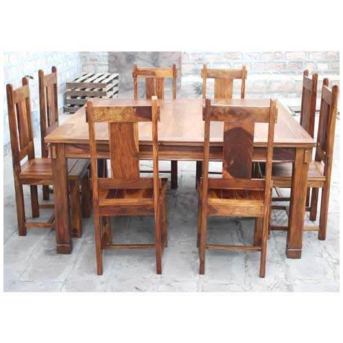 by room dining room dining table and chair sets large rustic square