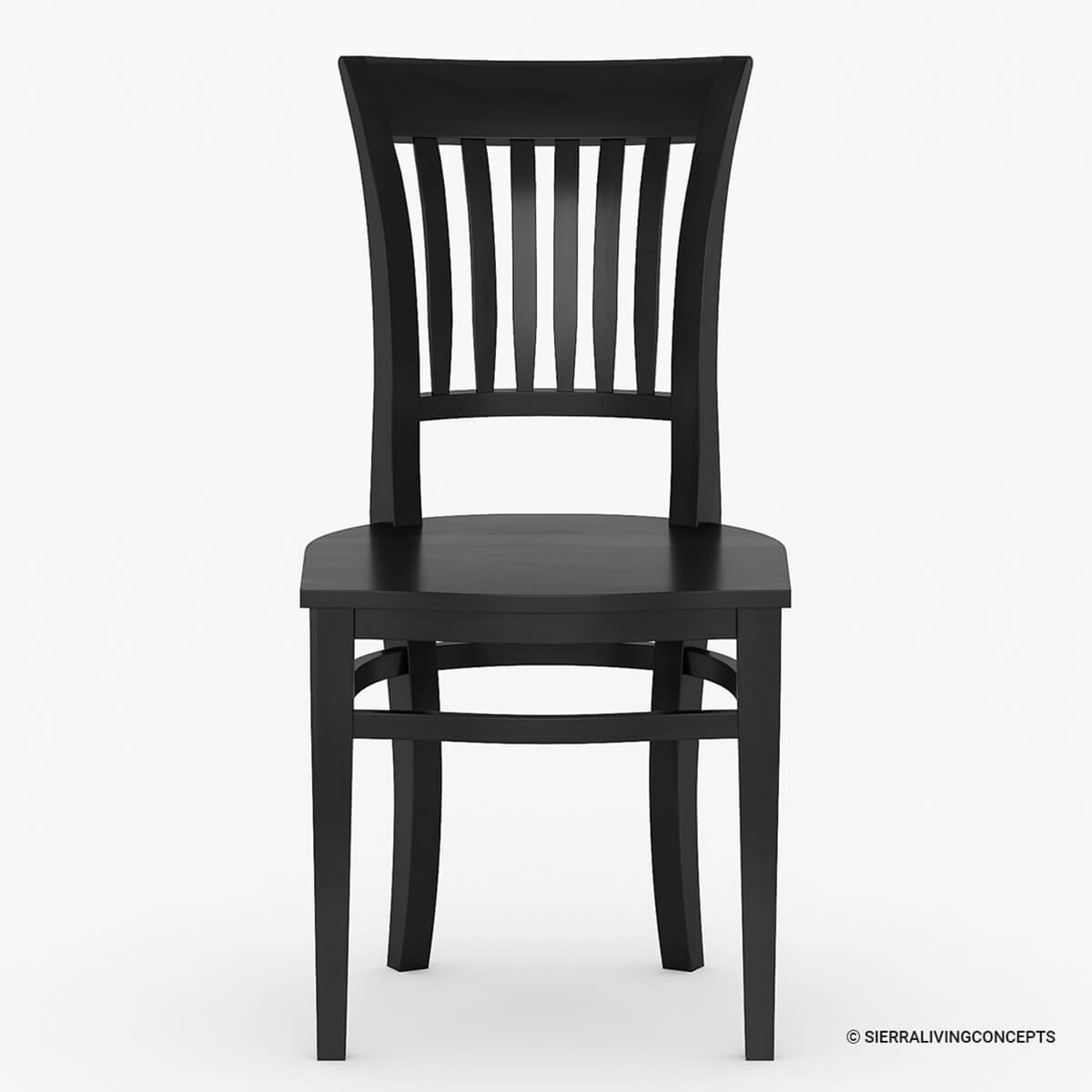 solid wood kitchen side dining chair furniture