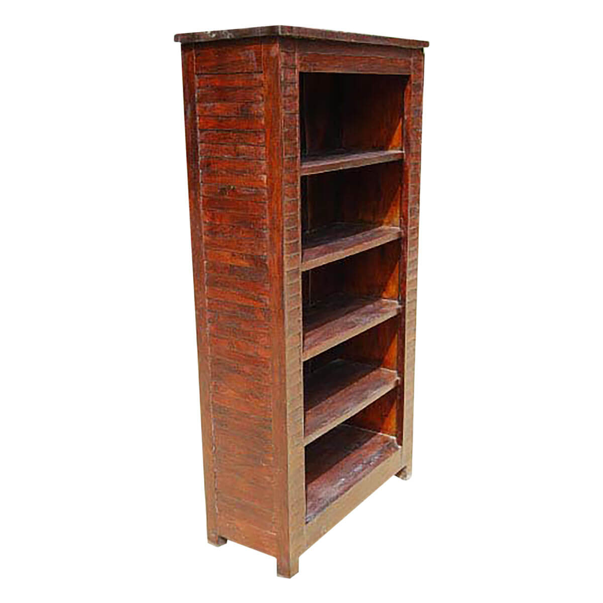 Solid wood large shelves bookcase book shelf armoire