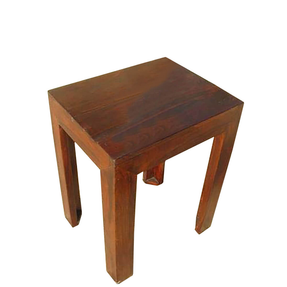 Solid wood night stand corner end lamp table furniture