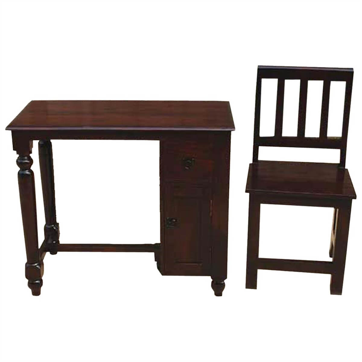solid wood writing desks Amish handmade solid wood writing desk for your home, office, restaurant, or nursery made-to-order in the solid wood of your choice.