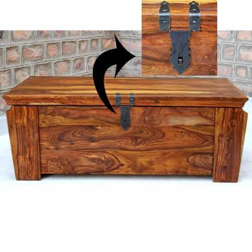 coffee tables grinnell wooden storage trunk chest box coffee table
