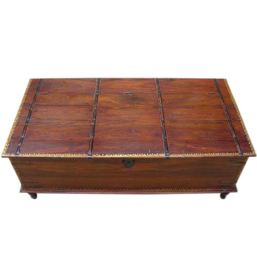 Kokanee Solid Wood Storage Box Coffee Table