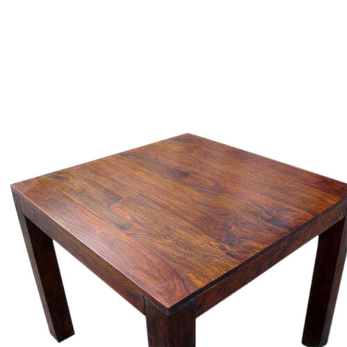 Kluane Contemporary Solid Wood Square Dinette Dining Table