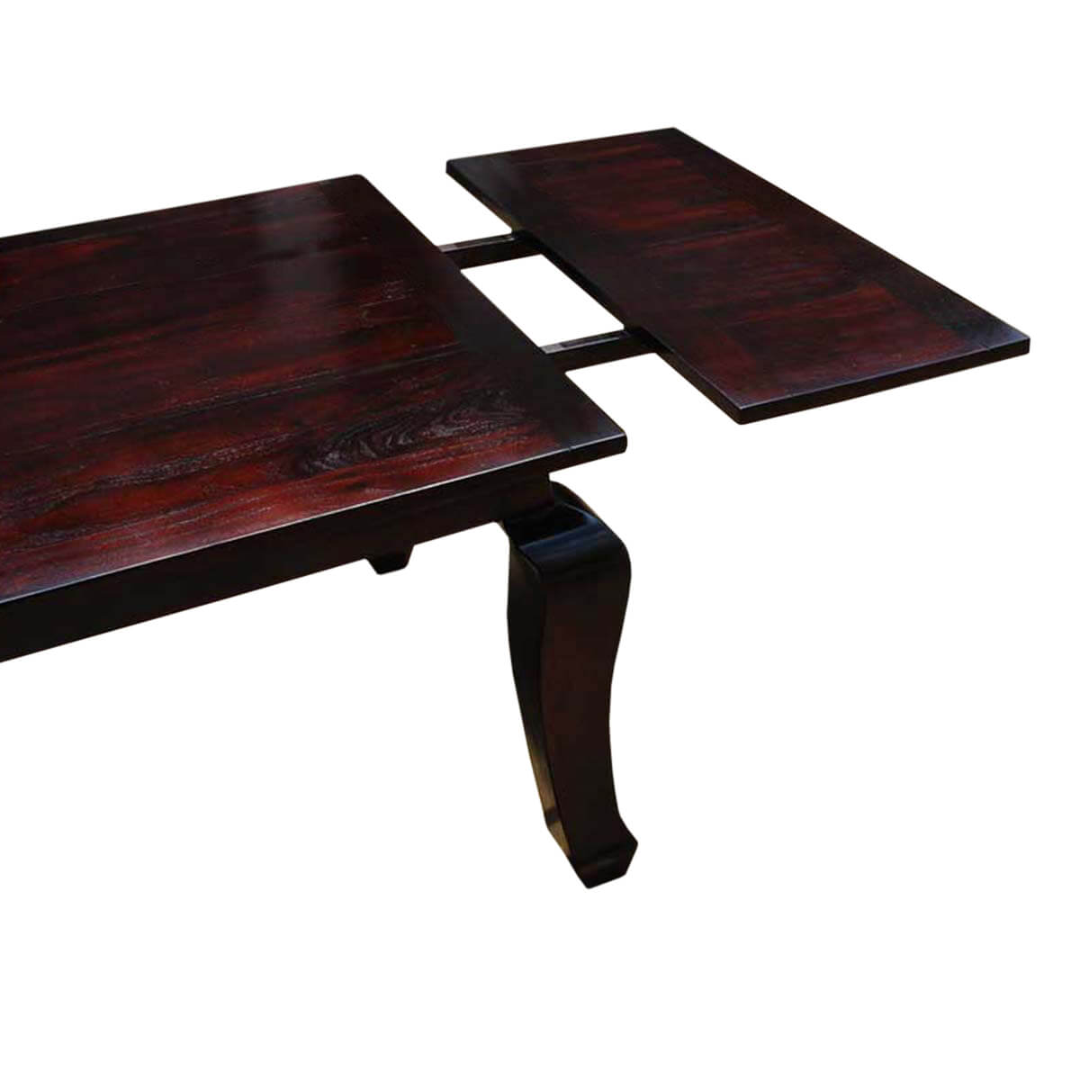 Solid Wood Cabriole Leg Dining Room Table with Extension  : 26963 from www.sierralivingconcepts.com size 1200 x 1200 jpeg 104kB