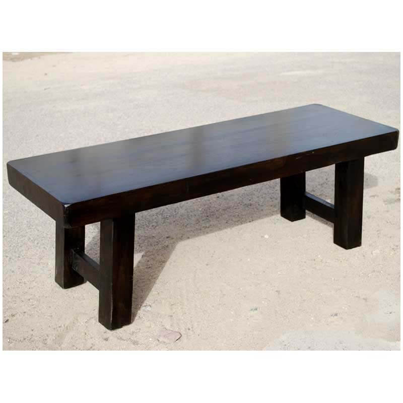 Kansas City Rustic Solid Wood Dining Bench