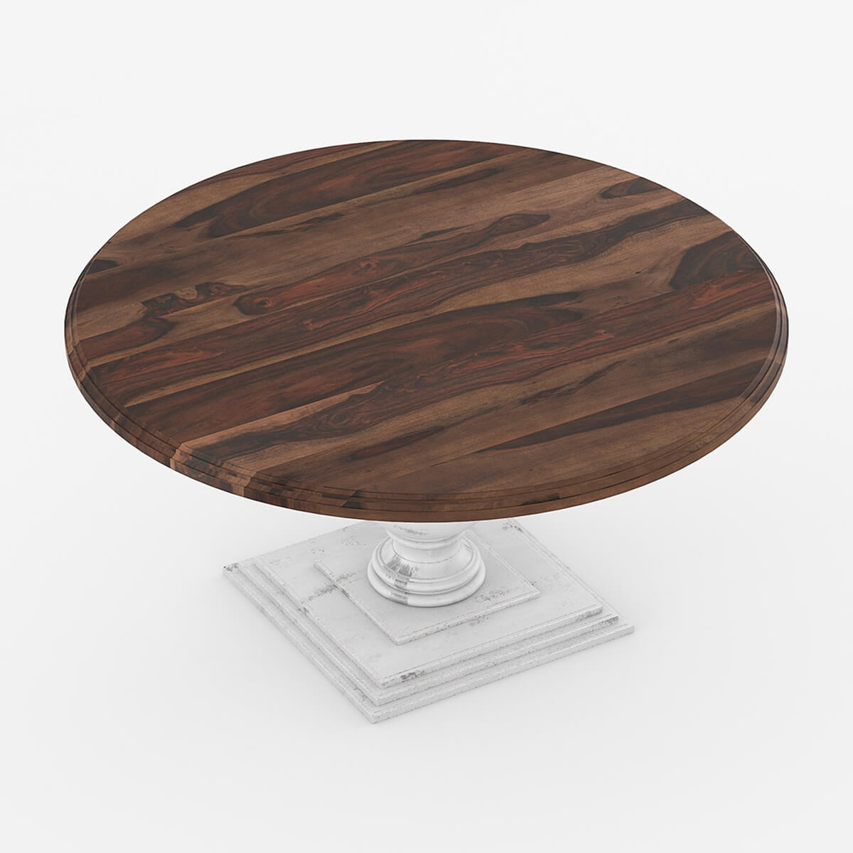dining room dining tables 72 solid wood large pedestal round dining