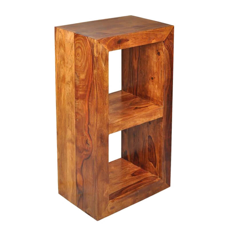 Portland Contemporary Solid Wood Window Frame Bookcase
