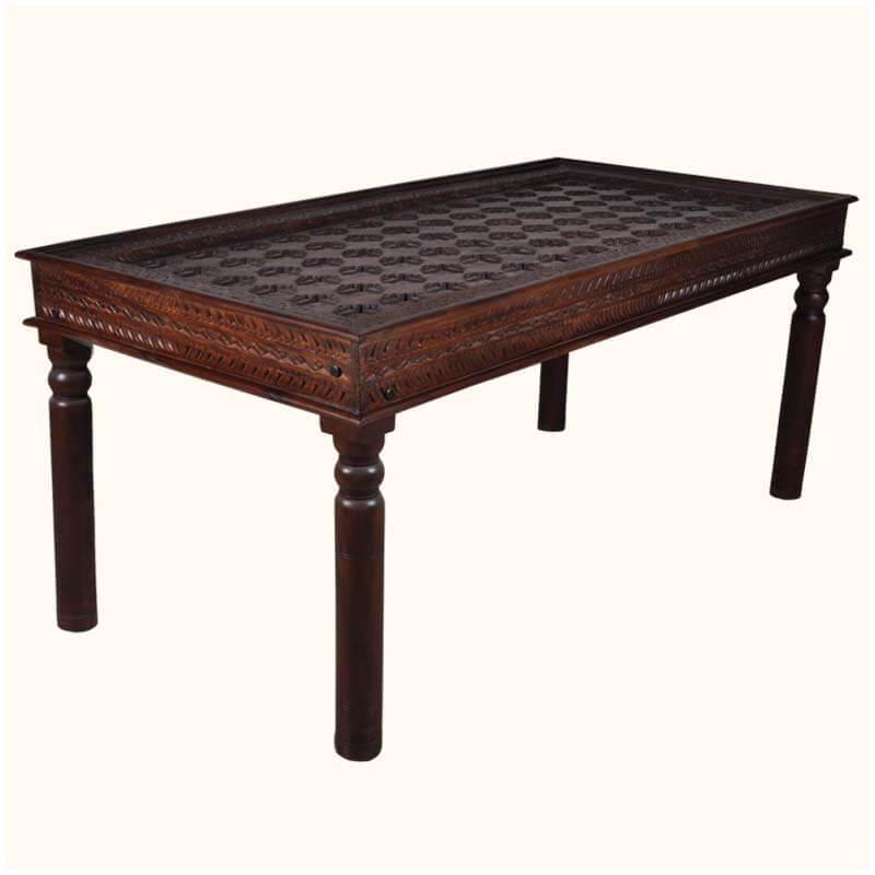 Palace Gates Traditional Hand Carved Rosewood Dining Table : 34822 from sierralivingconcepts.com size 800 x 800 jpeg 51kB
