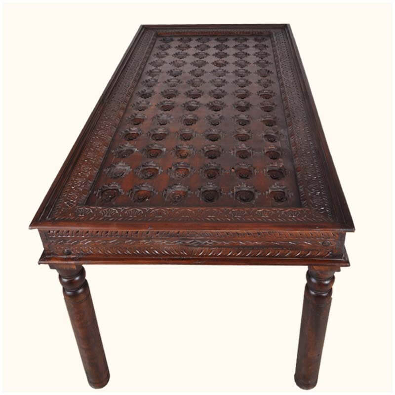 Palace Gates Traditional Hand Carved Rosewood Dining Table : 34824 from sierralivingconcepts.com size 800 x 800 jpeg 69kB