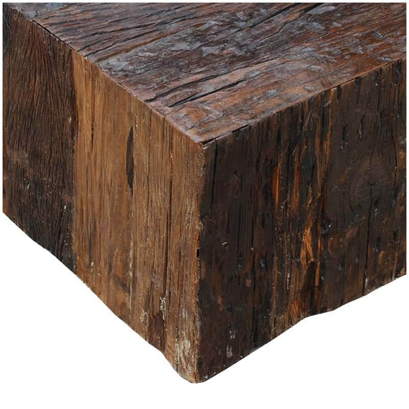 appalachian rustic reclaimed wood unique square box style