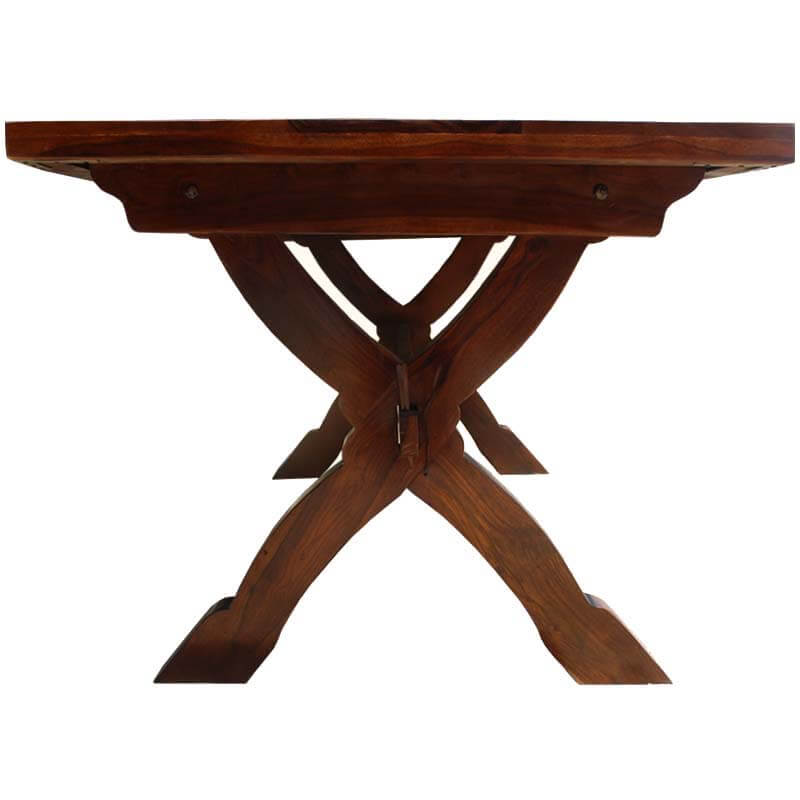dining tables mckay solid wood double pedestal style rectangle 71