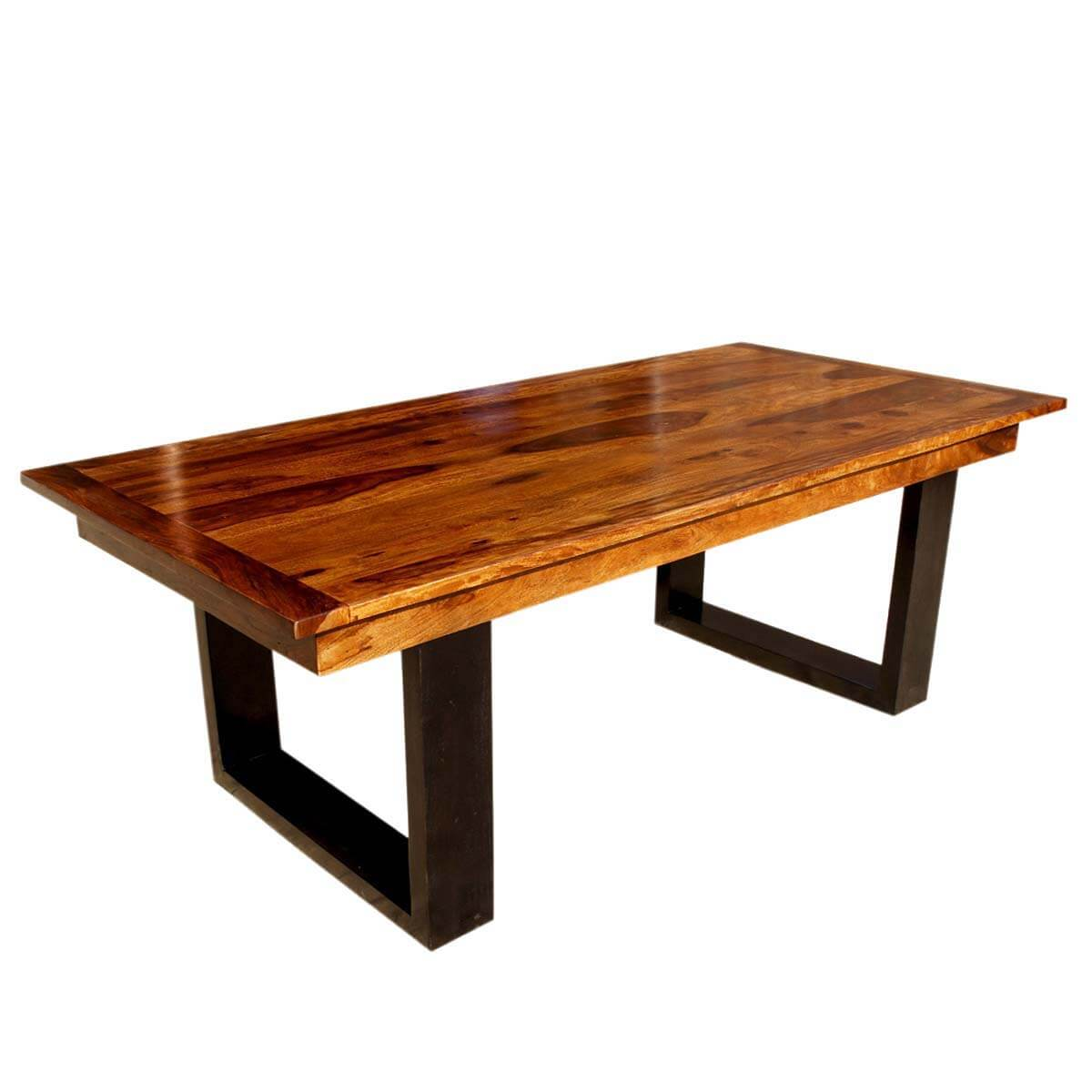 Solid Wood Furniture ~ Quot large solid wood double pedestal dining table furniture