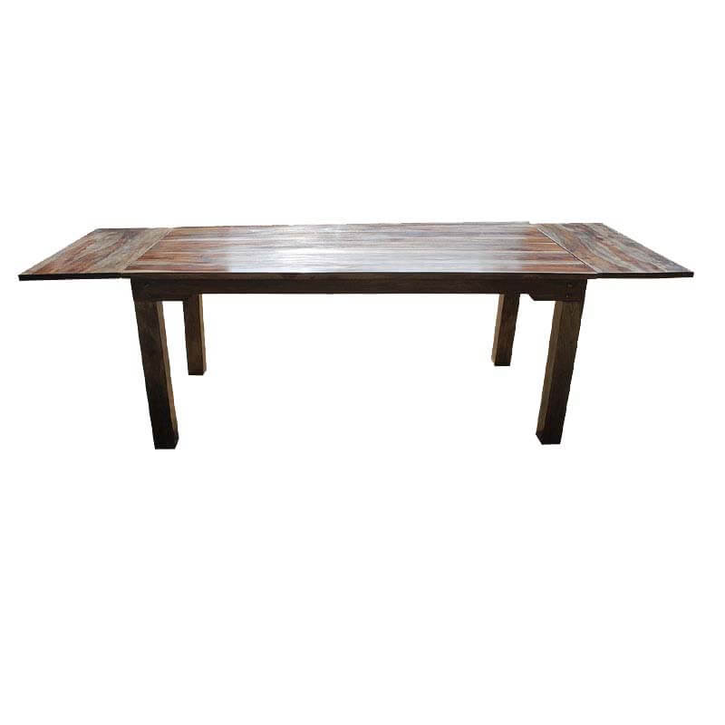 Dining Room Dining Tables Rustic Large Cariboo Dining Table W