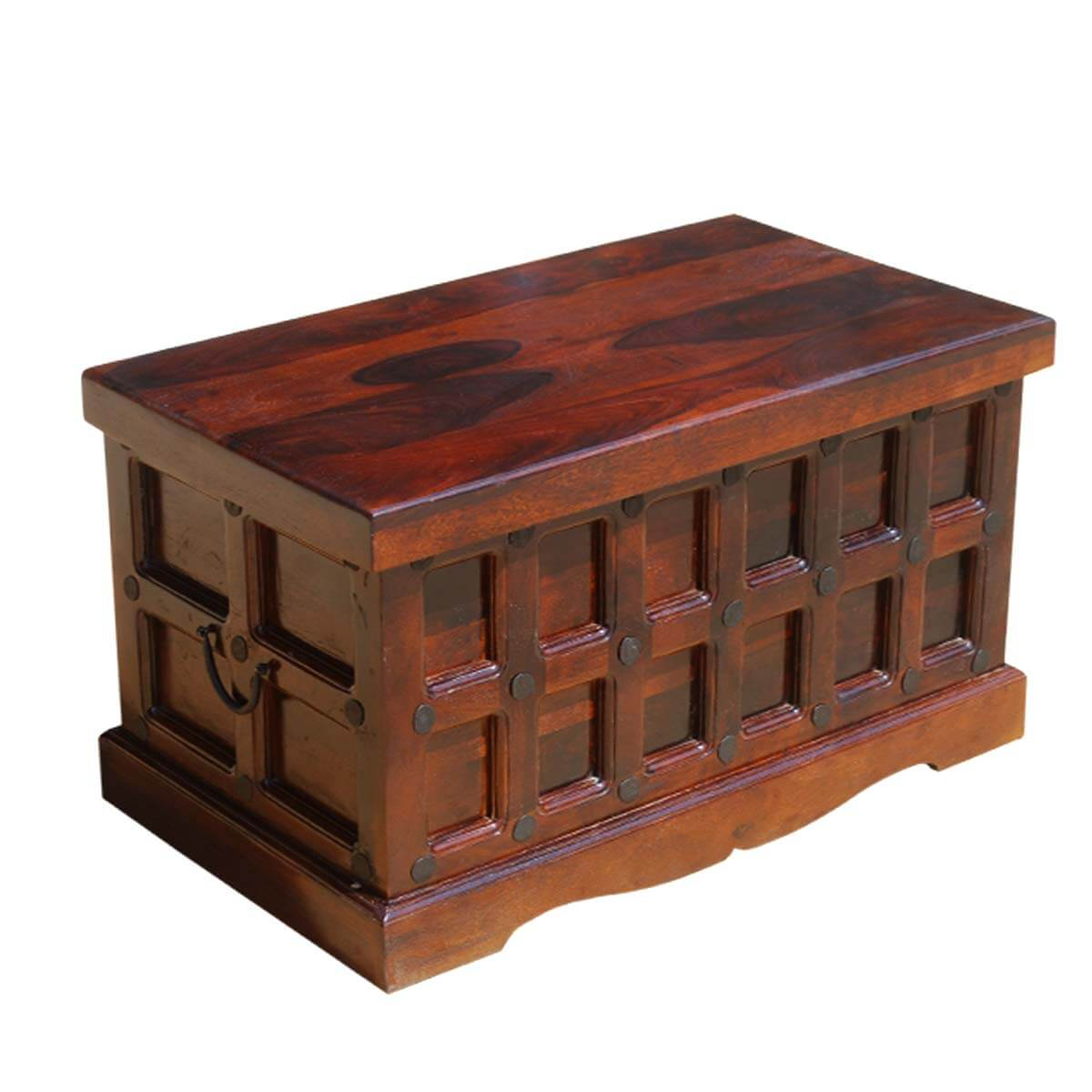 Wonderful image of Home Solid Wood Trunk Coffee Table Blanket Storage Chest with #B28C19 color and 1200x1200 pixels