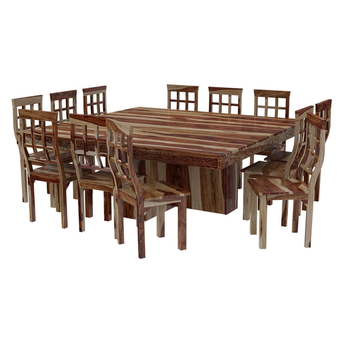Dining Room Dining Table And Chair Sets Dallas Ranch Square Pedestal