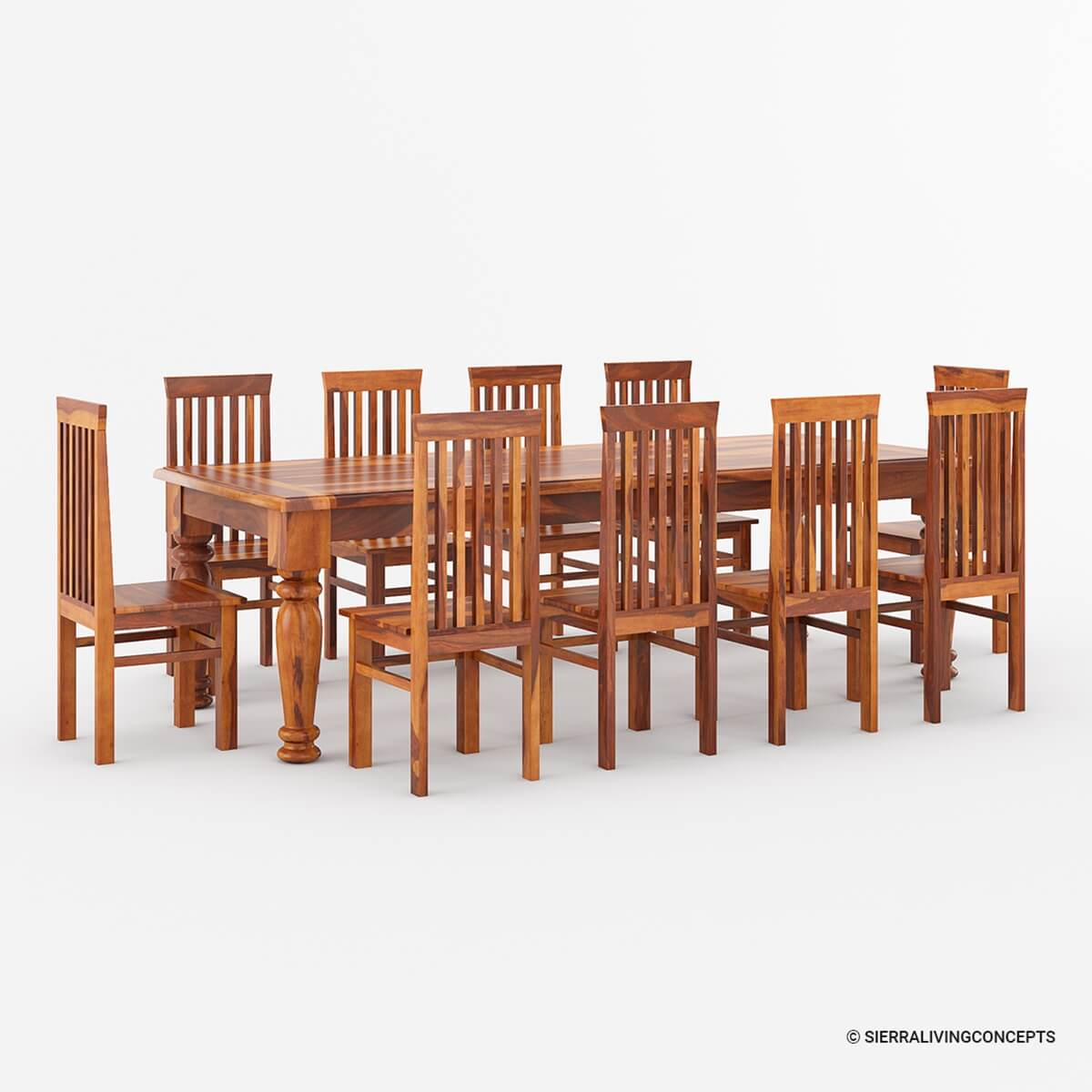 Table And Chair Sets Large Rustic Dining Table Chair Set Seats 12