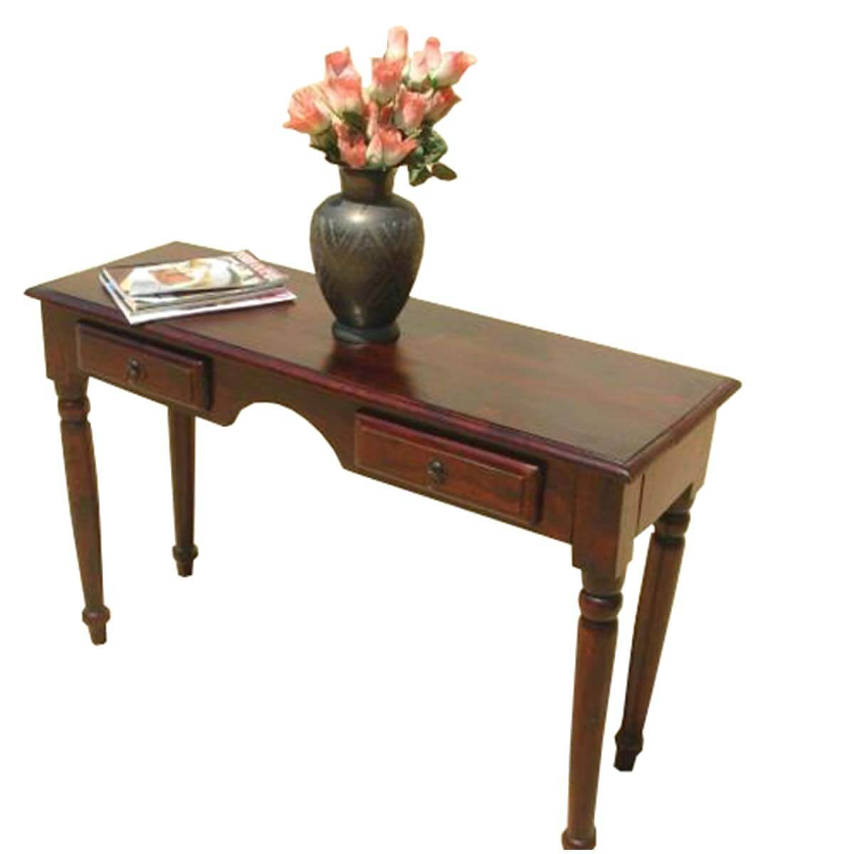 solid wood handmade sturdy table writing office desk